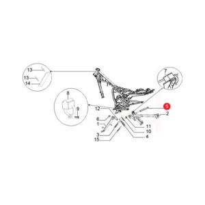 CENTER STAND AXLE Price Specification