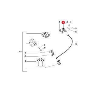 SADDLE LOCK (YELLOW ZINC) Price Specification