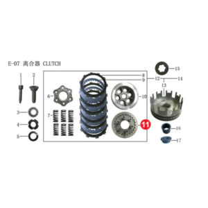 CENTER COMP CLUTCH Price Specification