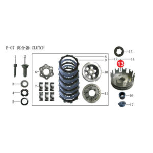 OUTER COMP CLUTCH Price Specification