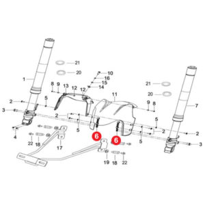 FRONT FENDER MOUNTING BRACKET Price Specification