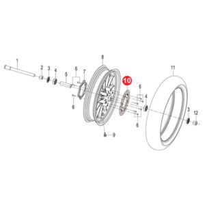 FRONT BRAKE DISC Price Specification