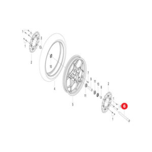 FRONT WHEEL AXLE Price Specification online in Pakistan.