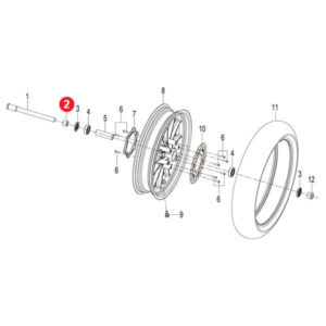FRONT WHEEL RIGHT COLLAR Price Specification
