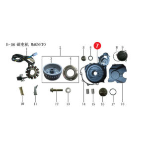 COVER CRANKCASE LH Price Specification