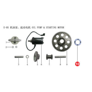 WASHER GEAR STARTING CLUTCH Price Specification