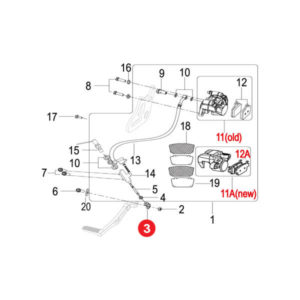 BRAKE PEDAL JOINT M6 Price Specification