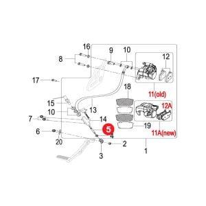 BRAKE PUSH ROD LENGTH:83mm Price Specification