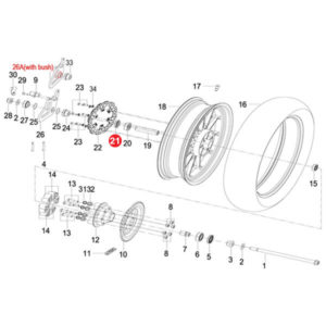 FRONT WHEEL RIGHT OIL SEAL ASSY Price Specification