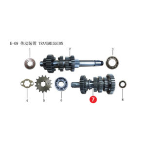 COUNTERSHAFT ASSY Price Specification